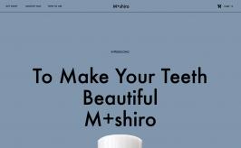 Mashiro サイトビュー